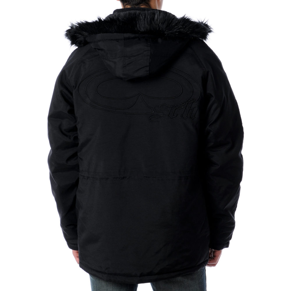 SRH Bomber Black Jacket Back