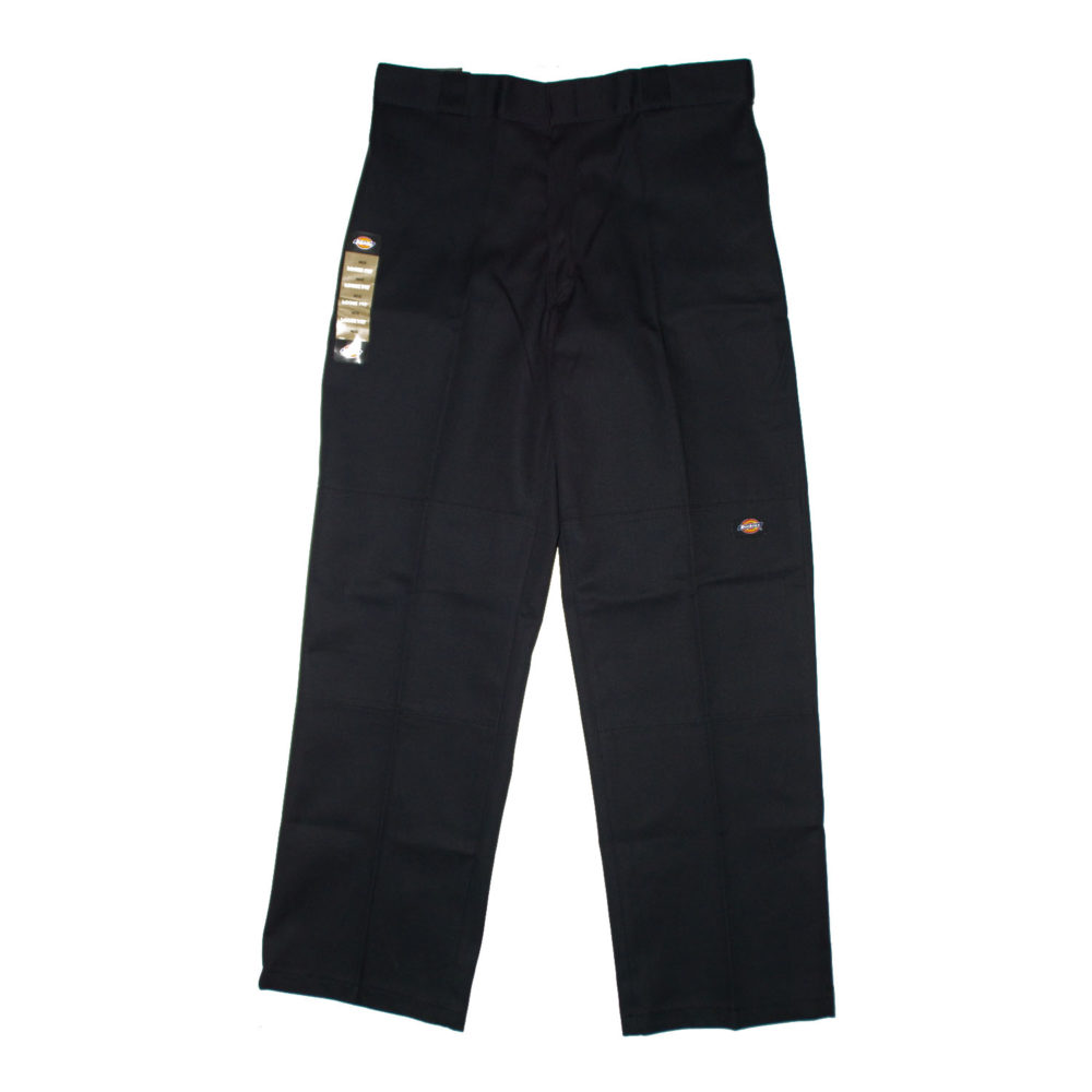 Dickies 852 Loose Double Knee Work Pants Black Australia
