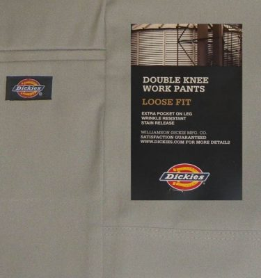 Dickies 852 Loose Double Knee Work Pants Silver Australia