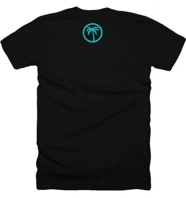 BLVD Supply Boulevard Black Tshirt Back