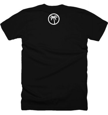 BLVD Supply Circle Scale Black Tshirt Back