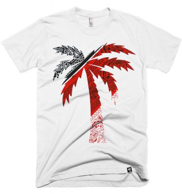 BLVD Supply Compton White Tshirt Front