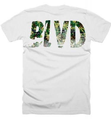 BLVD Supply Contra White Tshirt Back