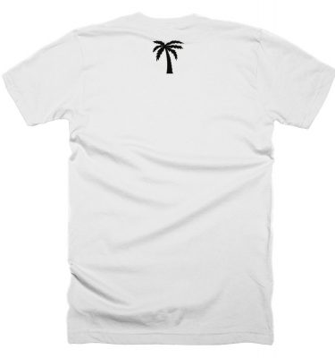 BLVD Supply Express 2 White Tshirt Back