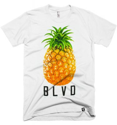 BLVD Supply Express 2 White Tshirt Front