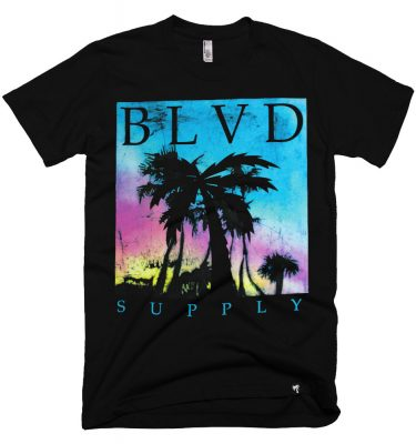 BLVD Supply Imagine Black Tshirt Front