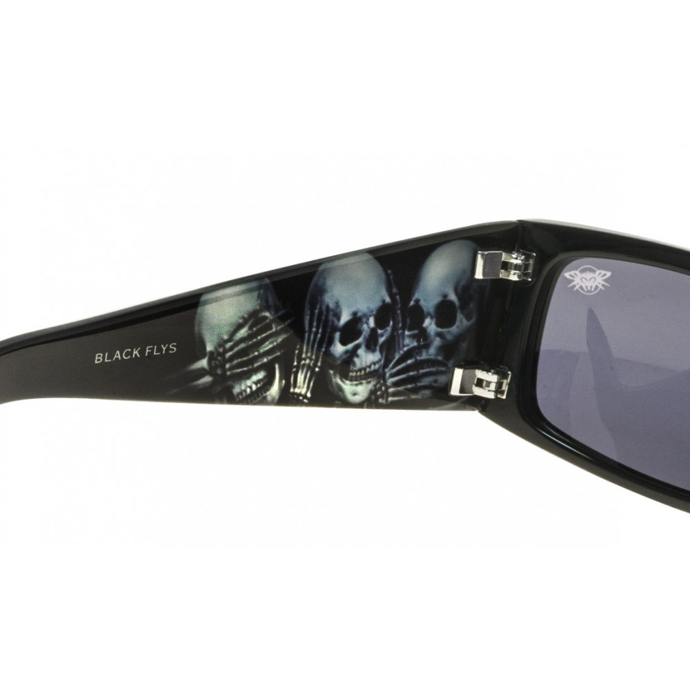 Black Flys OG Abel Detector Log 2 Sunglasses