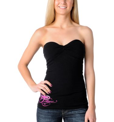 SRH Majestic Black Tube Top Front