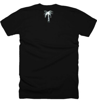 BLVD Supply Smoke Black Tshirt Back