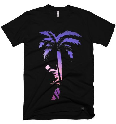BLVD Supply Venice AK Black Tshirt Front