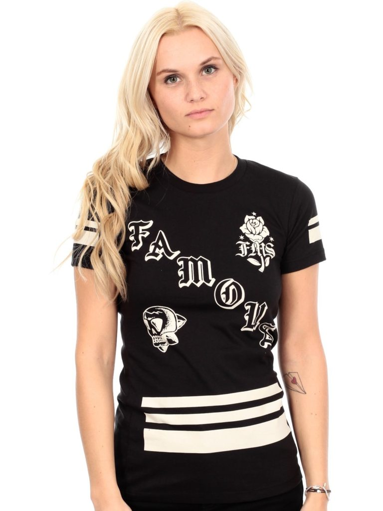 Famous Stars & Straps - JUNIORS - Death Squad Womens Tee - Black
