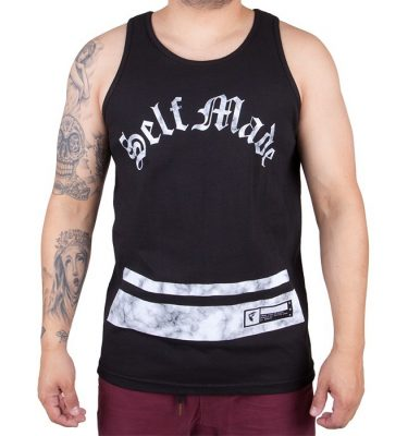 Famous Stars & Straps - Self Made Arch Mens Tank - Black