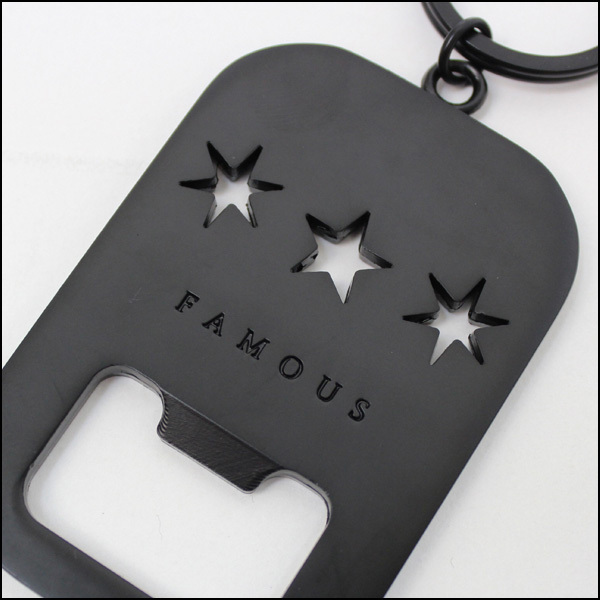 famous stars straps tri star bottle opener keychain juggernort australia. Black Bedroom Furniture Sets. Home Design Ideas