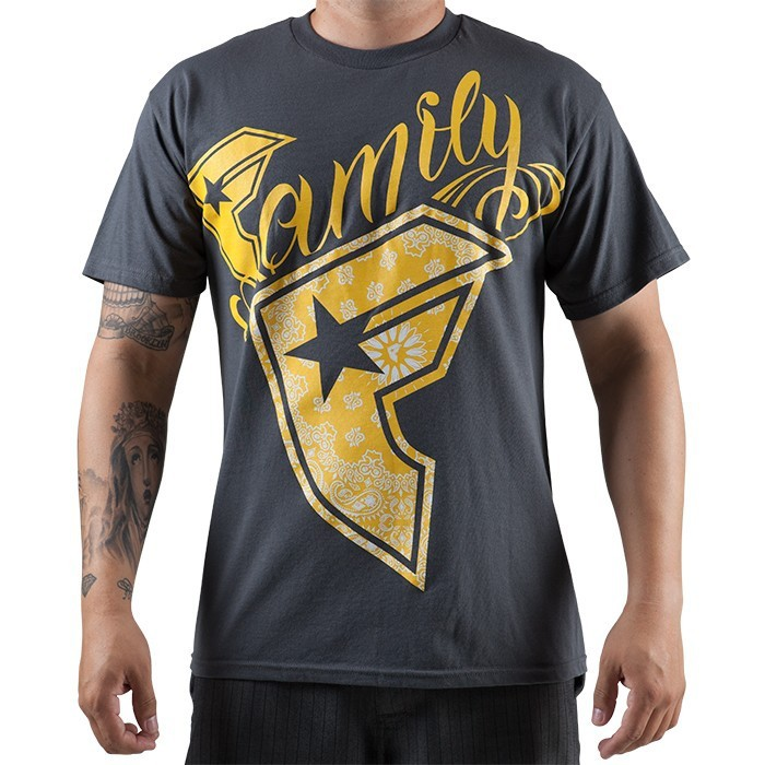 Famous Stars & Straps - Wild Pazer Mens Tee - Charcoal